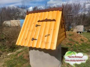 Домики для колодцев в Александровском районе